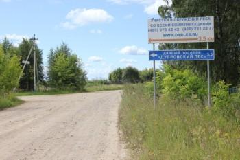 Указатель на Дубровский Лес №2