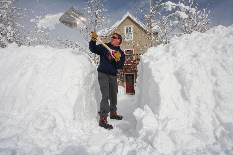 инструкция по уборке снега вручную