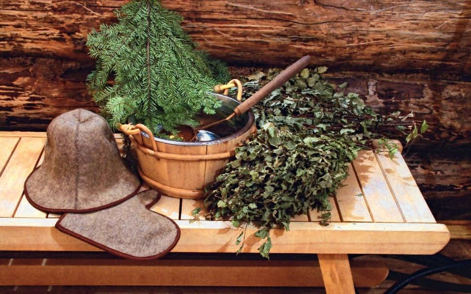 Традиционные аксессуары – неотъемлемая часть банного антуража